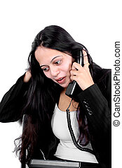 Indian Businesswoman on Phone