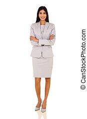 indian businesswoman portrait