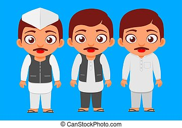 Indian, Candidate, Common Man, Politician, Characters & Set, Poor to Rich