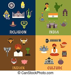Indian culture, religion and national icons