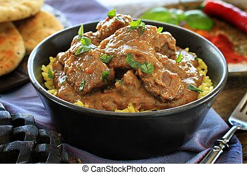 Indian beef lamb curry