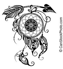 Indian Dream catcher - Tattoo Dream catcher