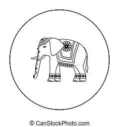 hindu symbol outline isolated on white background vector clip art search illustration. Black Bedroom Furniture Sets. Home Design Ideas