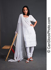 Indian Embroidered Women's Apparel