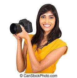 indian female photographer