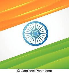 indian flag vector design