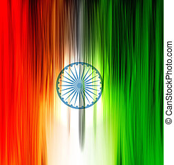 indian flag wood texture background vector