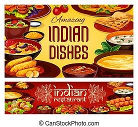 Indian food cuisine, authentic food