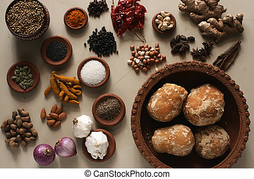 Indian Food Ingredient mixture - Ingredient mixture may...