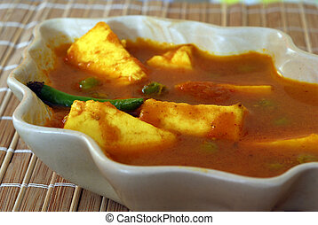 Indian Food Paneer - An Indian vegetarian meal Cottage ...