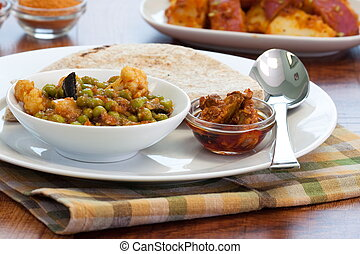 Indian food - Vegetable Curry - Delicious dish of vegetable ...