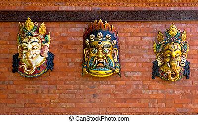 Indian god figures