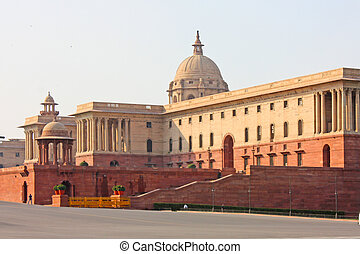 Indian Government buildings built o