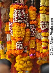 indian haar - this indian harr made by threed ,flowers