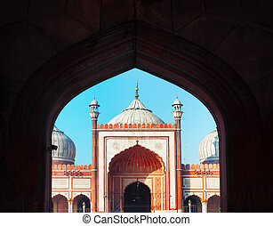 Indian landmark - Jama Masjid mosque