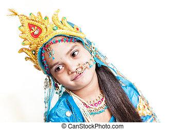 Indian little girl