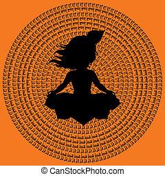Indian Mandala.