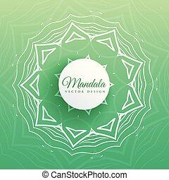 indian mandala pattern design background