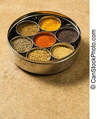 Indian masala box