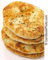 indian naan bread        - indian naan bread close up