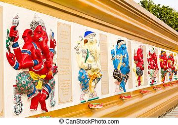 Indian or Hindu ganesha God statue
