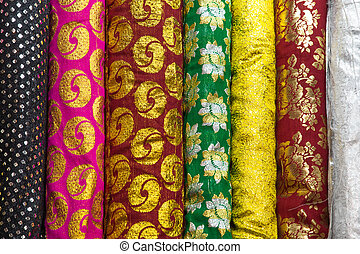 Indian pattern fabric