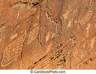 Indian Petroglyph Rock Art