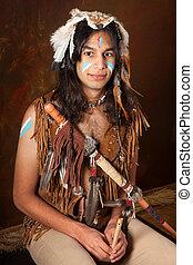 Indian portrait