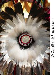 Indian Regalia at a Summer Powwow