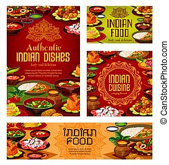 Indian restaurant, authentic food dishes menu