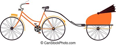indian rickshaw vector illustration travel transportation...