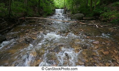 Indian Run Falls Loop - Seamless loop features whitewater...