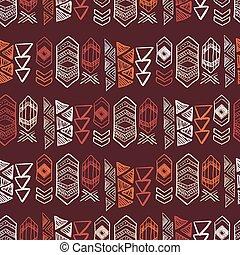 indian, seamless, mönster