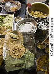 Indian street food.