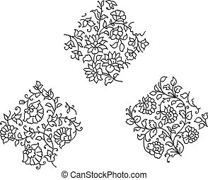 Indian style motif