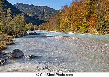 Indian Summer in the Karwendel mountains, Austria