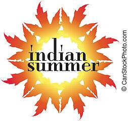 Indian Summer Vector Illustration