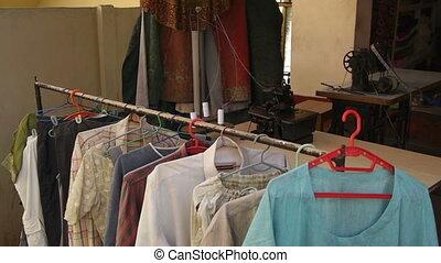 Indian tailoring shop