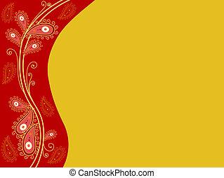 indian-themed, fondo