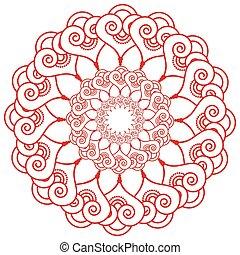 Indian wedding makeup henna tattoo decoration inspired...