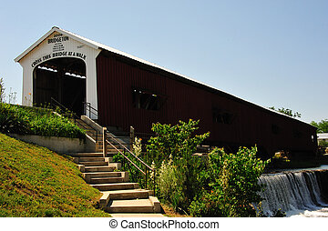 Indiana - Bridgeton Covered Bridge - Bridgeton Covered...