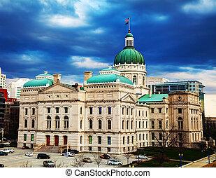 indiana, edifício capitólio estatal