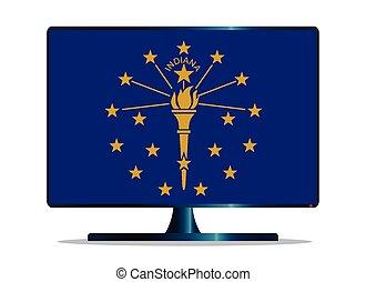 Indiana Flag TV