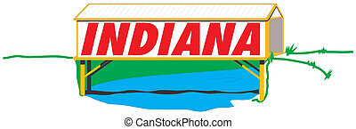 Indiana illustration