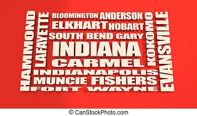 Indiana state cities list