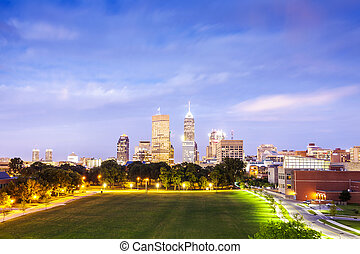 Indianapolis Downtown, Indiana, USA - Downtown of ...