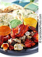 indianas, almoço, jogo