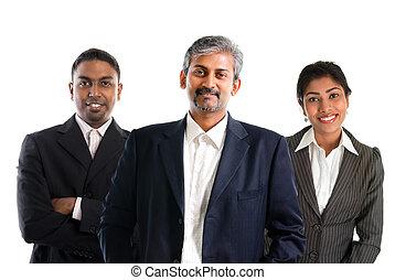 indianin, businessteam.