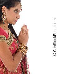 indianin, modlitwa