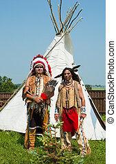 indiano americano, nord